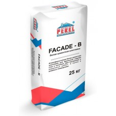 Белая цементная шпатлевка FACADE - B