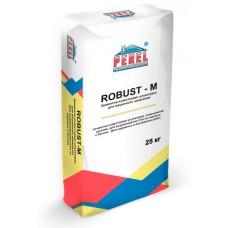 Цементно-известковая штукатурка для машинного нанесения ROBUST - M