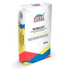 Цементно-известковая штукатурка для ручного нанесения ROBUST